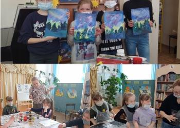 «Творческий апрель»: мастер-классы в библиоте...