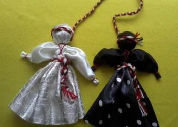 Мастерим русскую обереговую куклу «День.