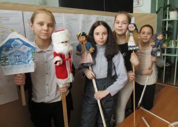 «Мороз Иванович»: кукольный спектакль...