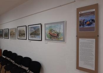 Выставка творческих работ Натальи Дьячко...