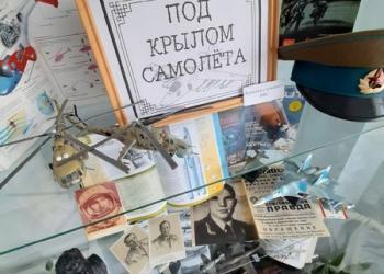 «Под крылом самолёта»: выставка-экспозиц...